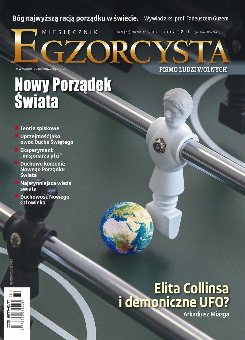 Miesięcznik Egzorcysta 73 (wrzesień 2018) - Ebook (Książka PDF) do pobrania w formacie PDF