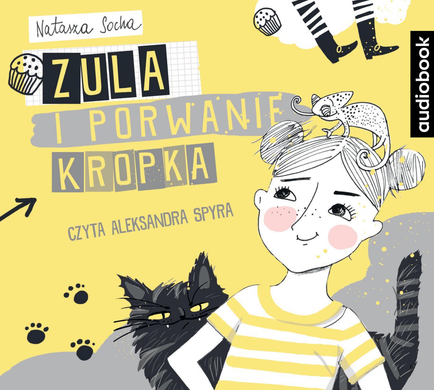 Zula i porwanie Kropka - Audiobook (Książka audio MP3) do pobrania w całości w archiwum ZIP