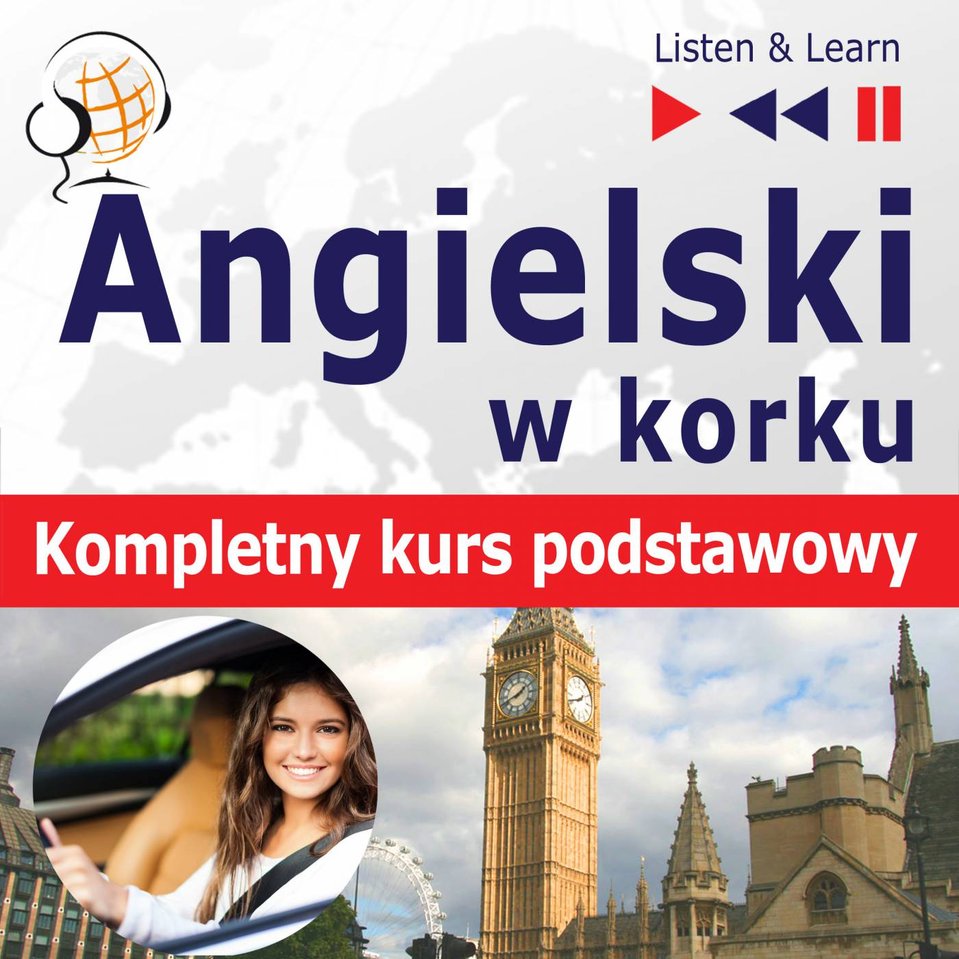 Angielski w korku. Kompletny kurs podstawowy - Audiobook (Książka audio MP3) do pobrania w całości w archiwum ZIP