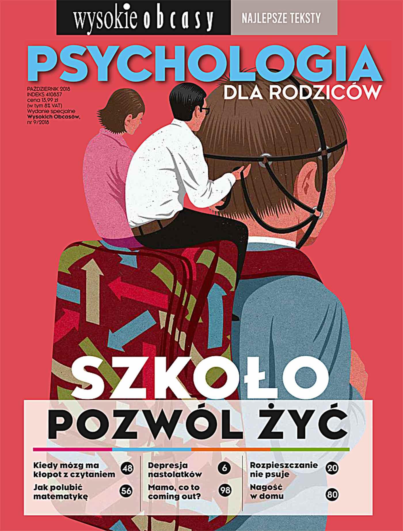 Psychologia dla rodziców. Wysokie Obcasy. Wydanie Specjalne 9/2018 - Ebook (Książka EPUB) do pobrania w formacie EPUB
