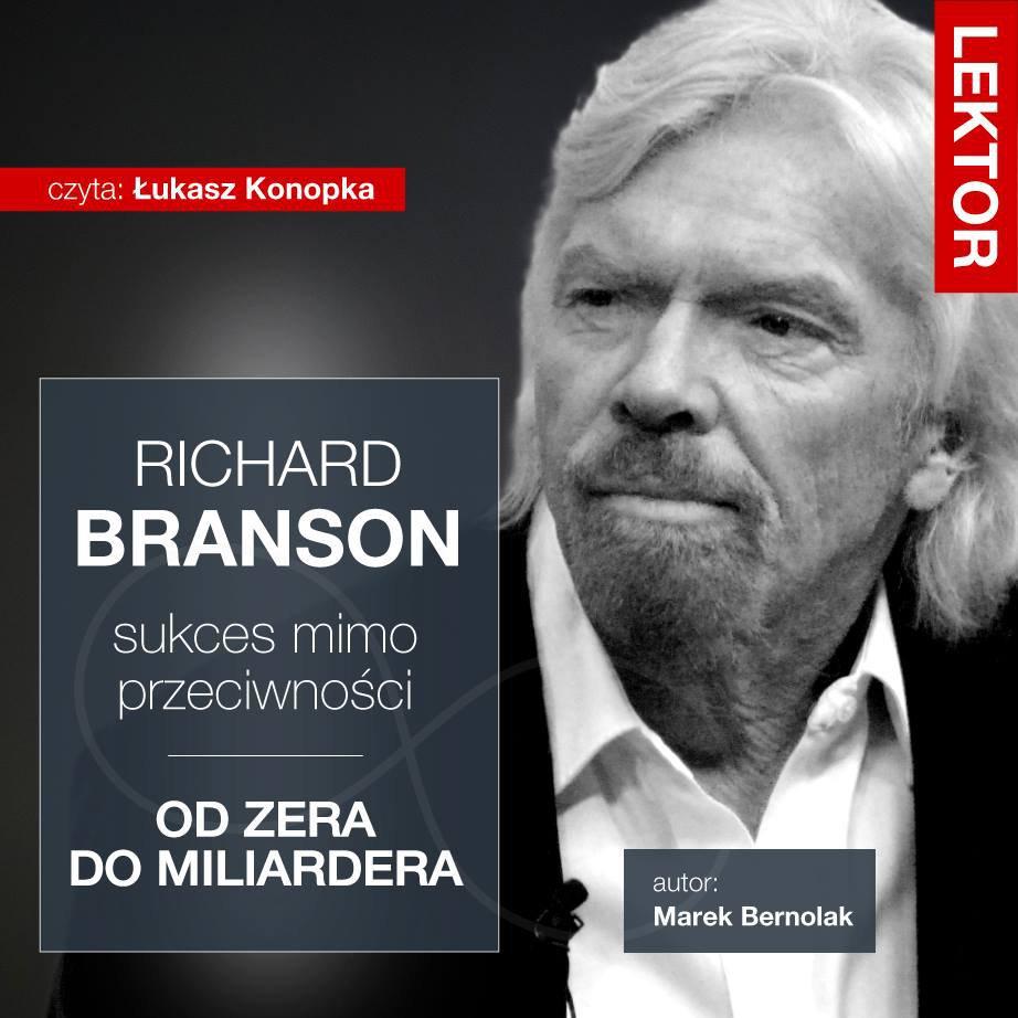 Richard Branson. Sukces mimo przeciwności - Audiobook (Książka audio MP3) do pobrania w całości w archiwum ZIP