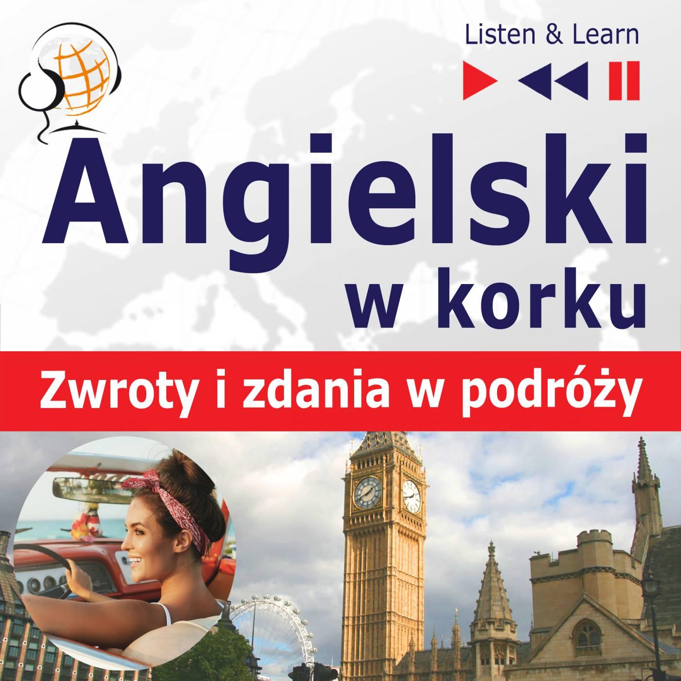 Angielski w korku. Przydatne zwroty i zdania w podróży - Audiobook (Książka audio MP3) do pobrania w całości w archiwum ZIP