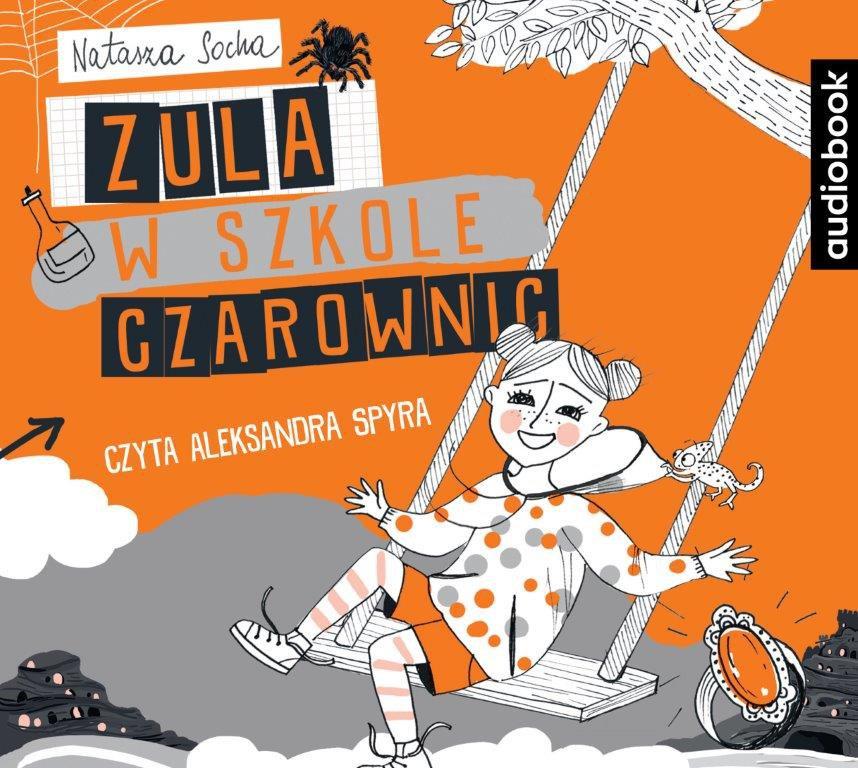 Zula w szkole czarownic - Audiobook (Książka audio MP3) do pobrania w całości w archiwum ZIP