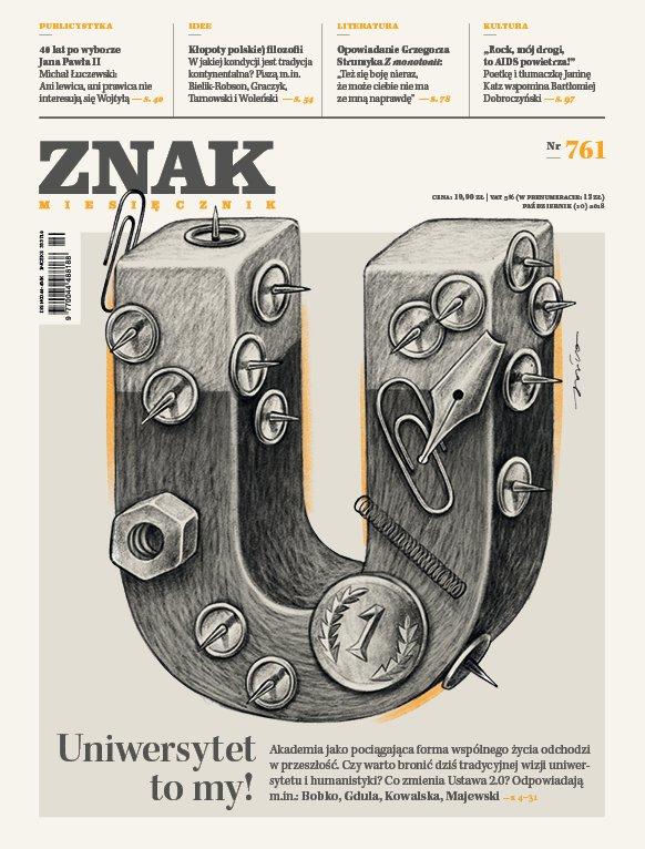 Miesięcznik Znak nr 761: Uniwersytet to my! - Ebook (Książka EPUB) do pobrania w formacie EPUB