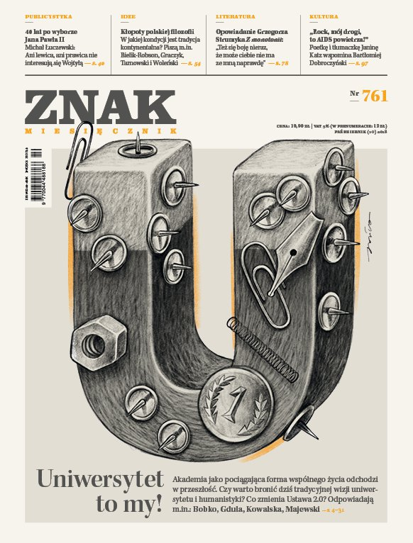 Miesięcznik Znak nr 761: Uniwersytet to my! - Ebook (Książka na Kindle) do pobrania w formacie MOBI