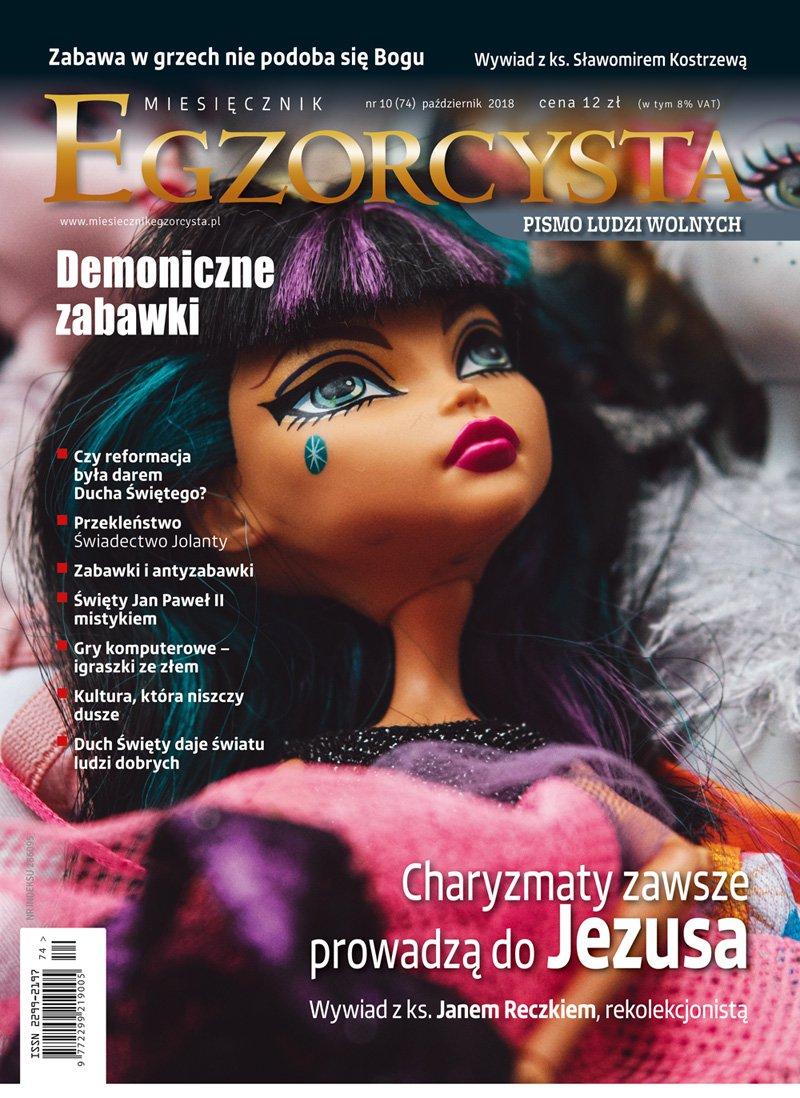Miesięcznik Egzorcysta 74 (październik 2018) - Ebook (Książka PDF) do pobrania w formacie PDF