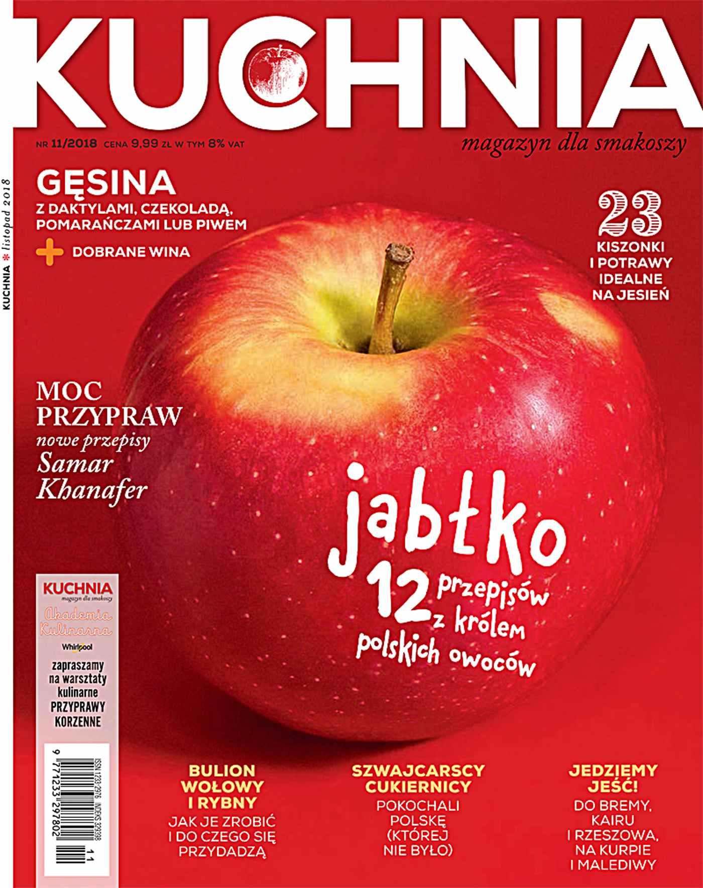 Kuchnia 11/2018 - Ebook (Książka PDF) do pobrania w formacie PDF