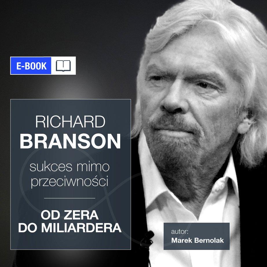 Richard Branson. Sukces mimo przeciwności - Ebook (Książka na Kindle) do pobrania w formacie MOBI