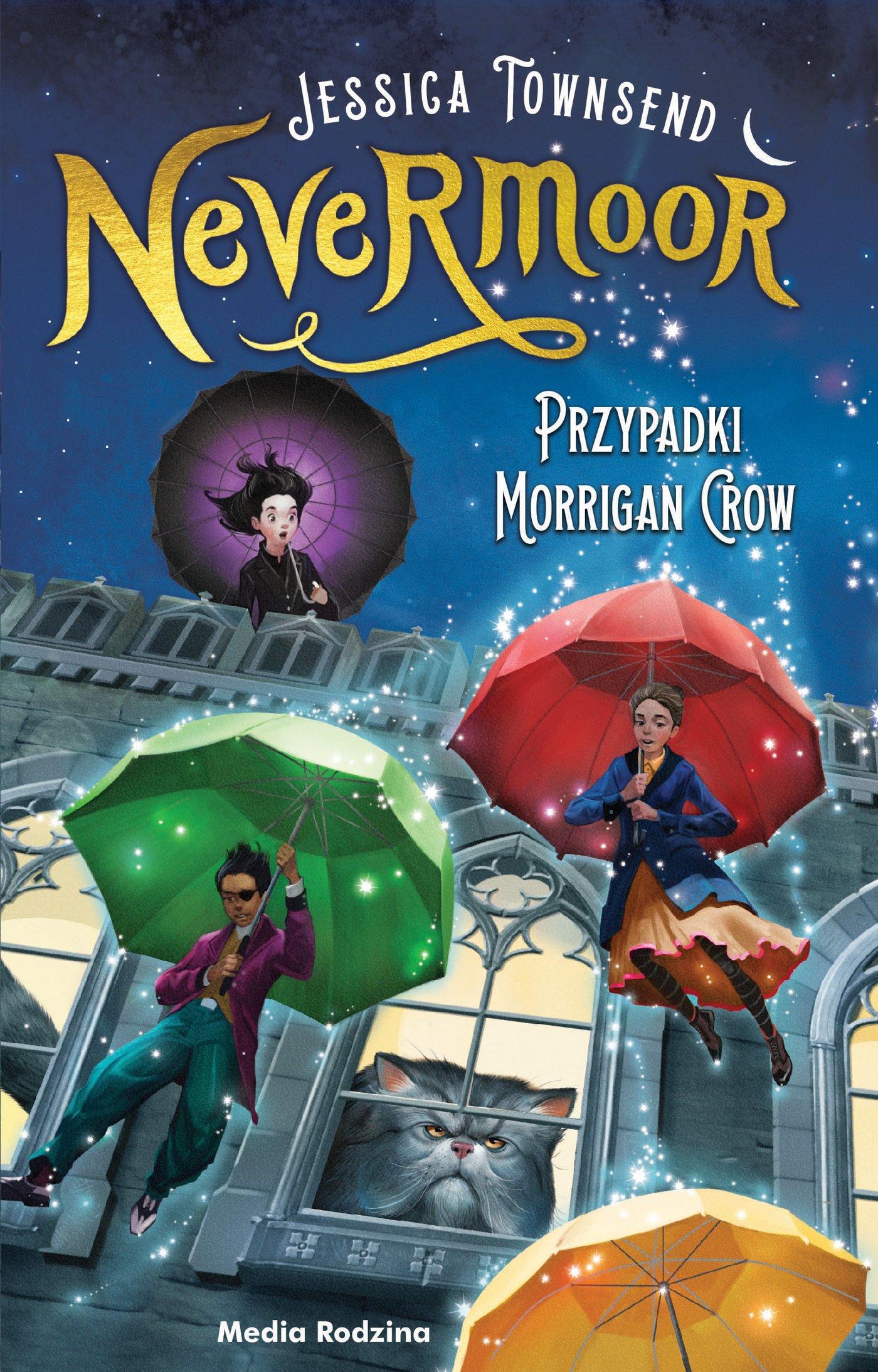 Nevermoor. Przypadki Morrigan Crow - Ebook (Książka na Kindle) do pobrania w formacie MOBI