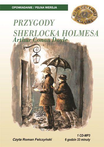 Przygody Sherlocka Holmesa - Audiobook (Książka audio MP3) do pobrania w całości w archiwum ZIP