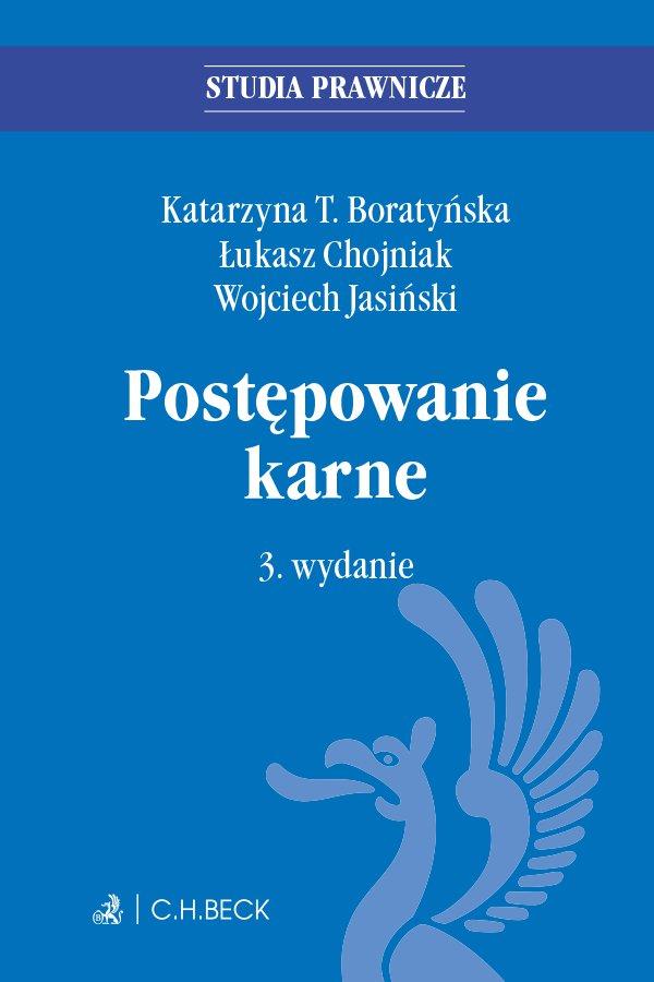 Postępowanie karne. Wydanie 3 - Ebook (Książka EPUB) do pobrania w formacie EPUB