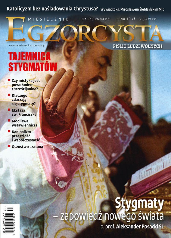 Miesięcznik Egzorcysta 75 (listopad 2018) - Ebook (Książka PDF) do pobrania w formacie PDF