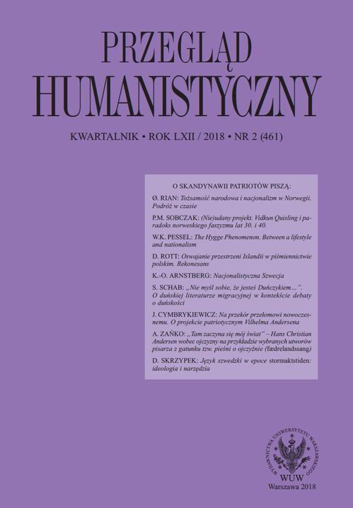 Przegląd Humanistyczny 2018/2 (461) - Ebook (Książka PDF) do pobrania w formacie PDF