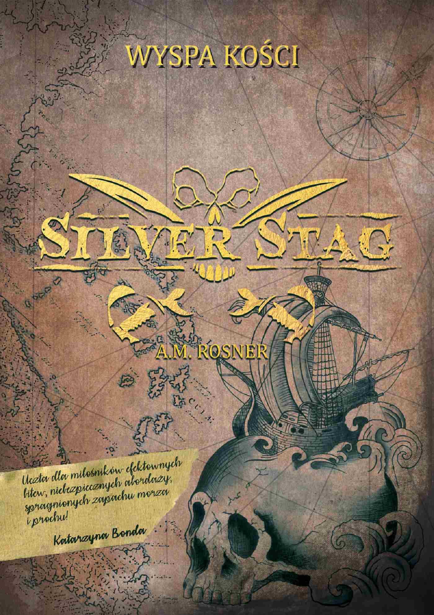 Silver Stag. Wyspa Kości - Ebook (Książka na Kindle) do pobrania w formacie MOBI
