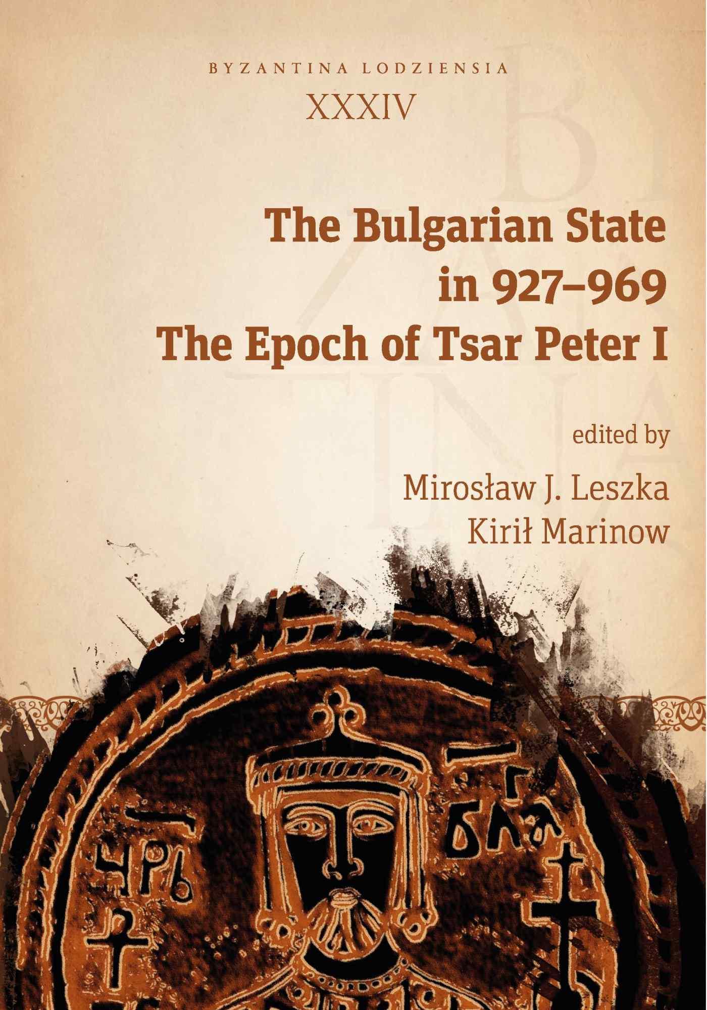 The Bulgarian State in 927–969. The Epoch of Tsar Peter I - Ebook (Książka PDF) do pobrania w formacie PDF