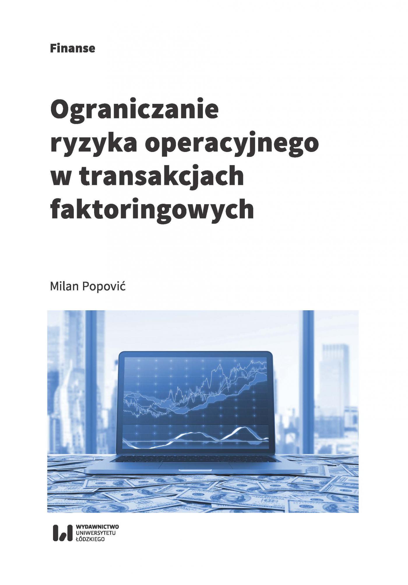Ograniczanie ryzyka operacyjnego w transakcjach faktoringowych - Ebook (Książka PDF) do pobrania w formacie PDF