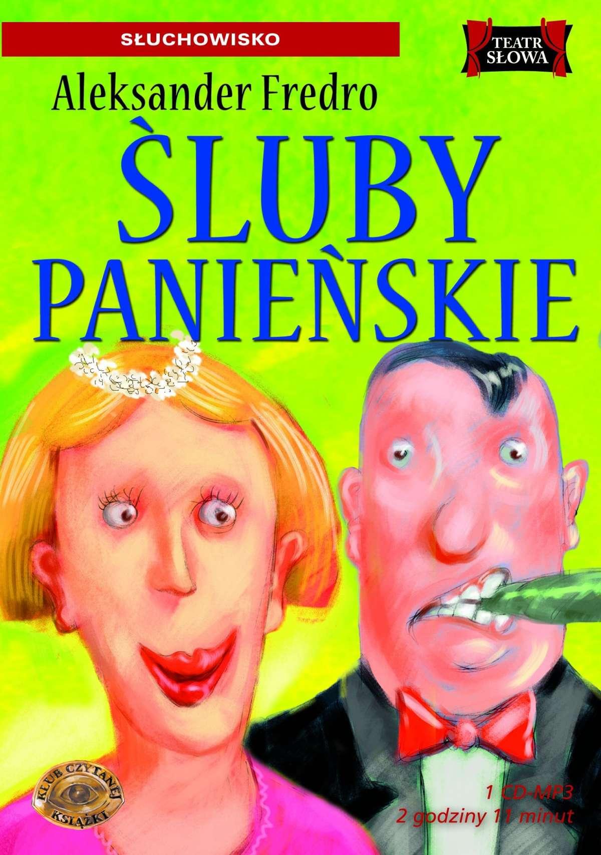 Śluby Panieńskie - Audiobook (Książka audio MP3) do pobrania w całości w archiwum ZIP