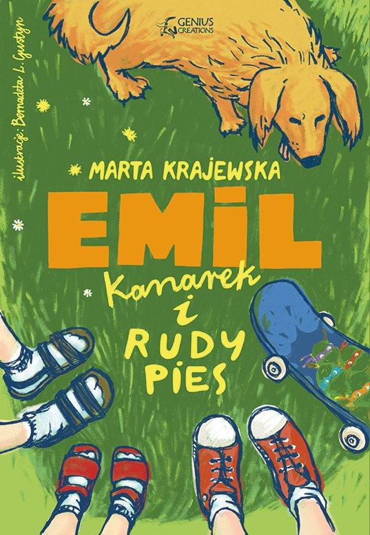 Emil, kanarek i rudy pies - Ebook (Książka EPUB) do pobrania w formacie EPUB
