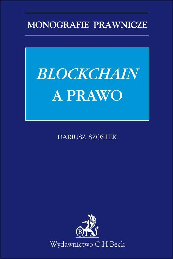 Blockchain a prawo - Ebook (Książka PDF) do pobrania w formacie PDF