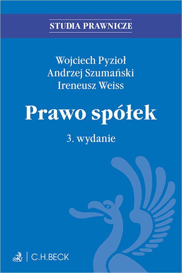 Prawo spółek. Wydanie 3 - Ebook (Książka PDF) do pobrania w formacie PDF