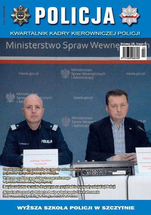 Policja 1/2017 - Ebook (Książka PDF) do pobrania w formacie PDF
