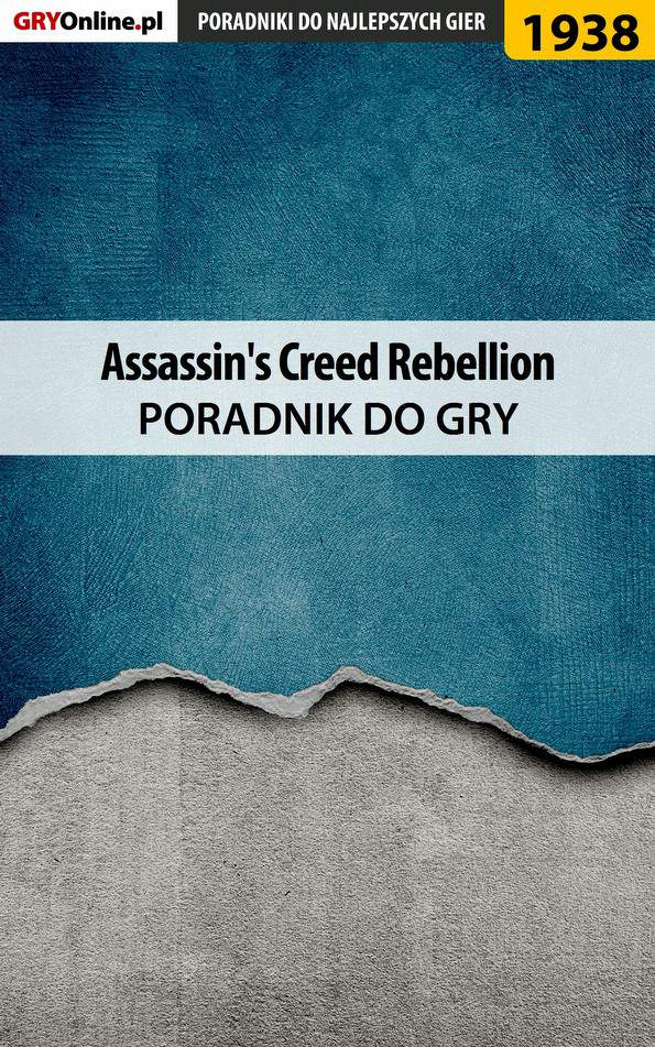 Assassin's Creed Rebellion - poradnik do gry - Ebook (Książka EPUB) do pobrania w formacie EPUB