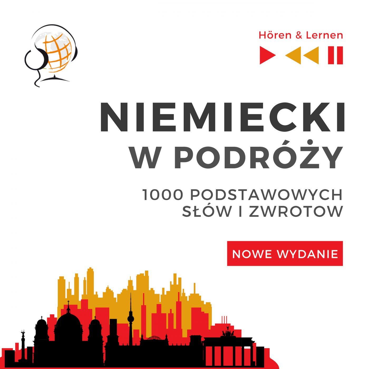 Niemiecki w podróży 1000 podstawowych słów i zwrotów - Nowe wydanie - Audiobook (Książka audio MP3) do pobrania w całości w archiwum ZIP