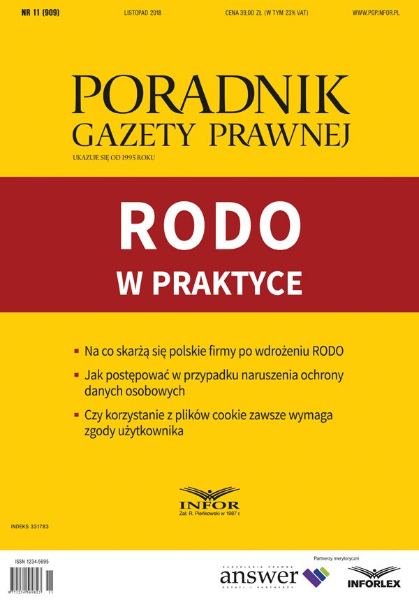 RODO w praktyce - Ebook (Książka PDF) do pobrania w formacie PDF
