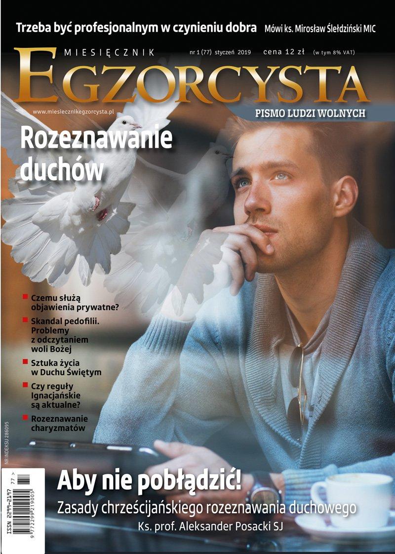 Miesięcznik Egzorcysta 77 (1/2019) - Ebook (Książka PDF) do pobrania w formacie PDF