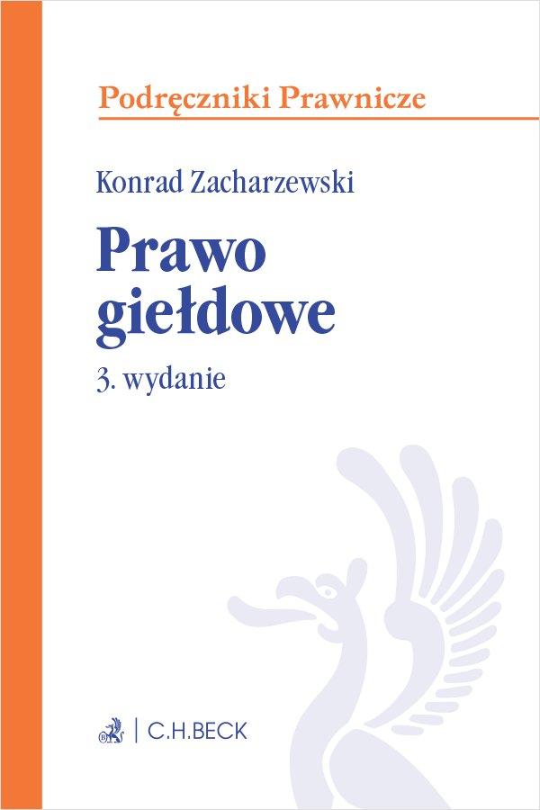 Prawo giełdowe. Wydanie 3 - Ebook (Książka PDF) do pobrania w formacie PDF