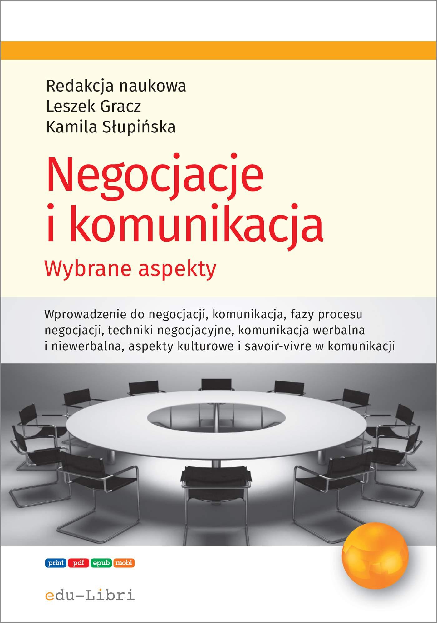 Negocjacje i komunikacja - Ebook (Książka PDF) do pobrania w formacie PDF