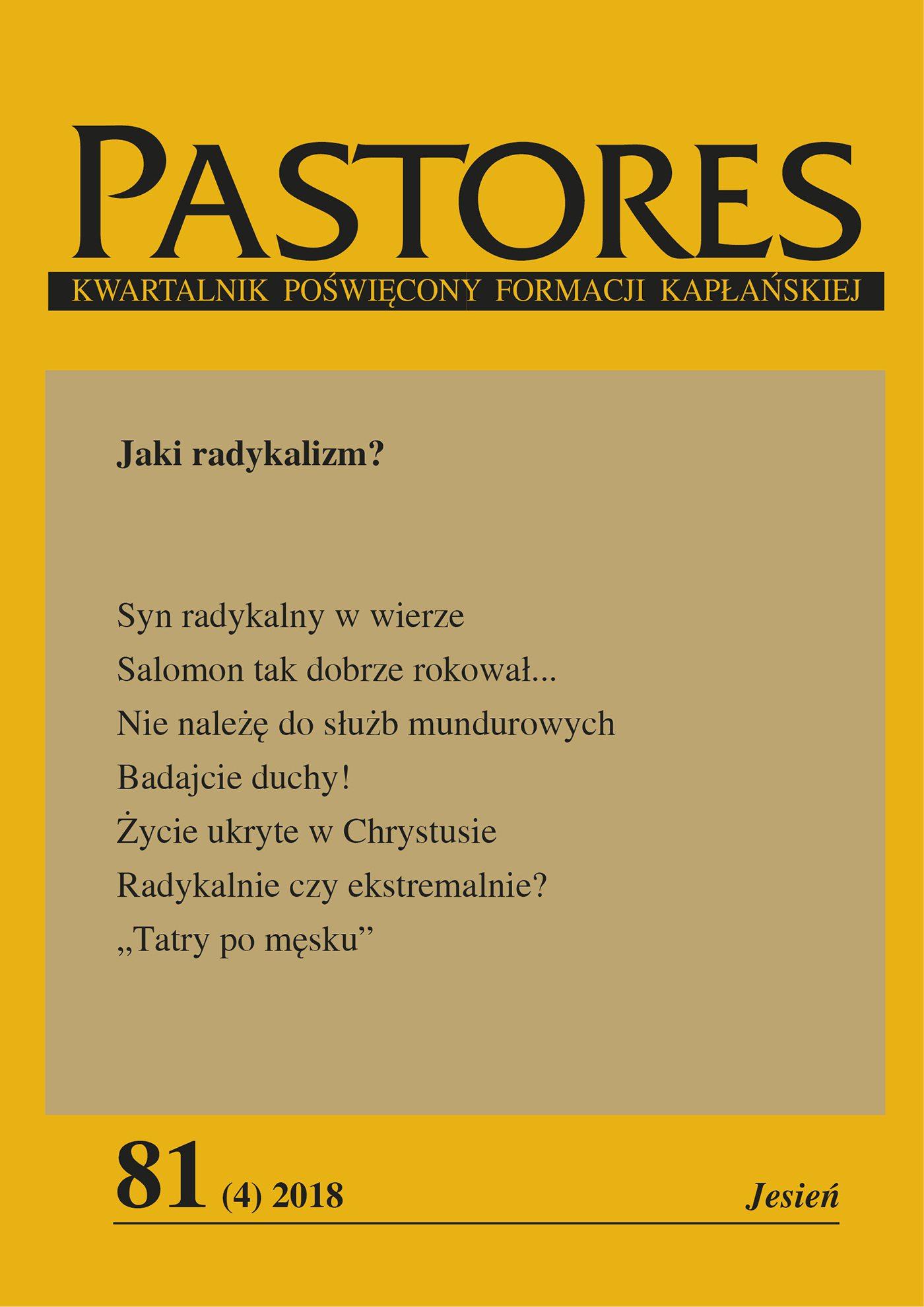 Pastores 81 (4) 2018 - Ebook (Książka EPUB) do pobrania w formacie EPUB