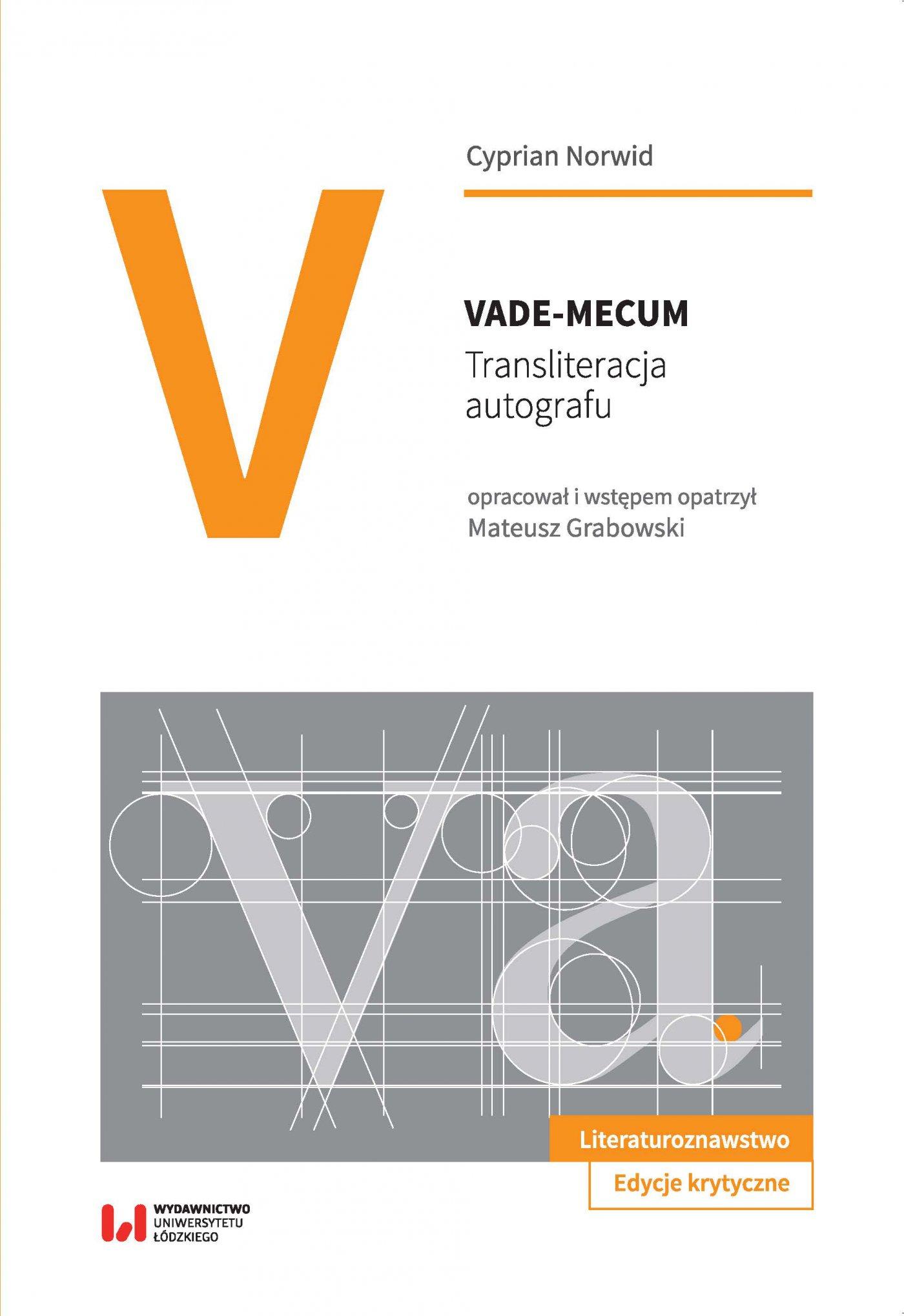 Vade-mecum. Transliteracja autografu - Ebook (Książka PDF) do pobrania w formacie PDF