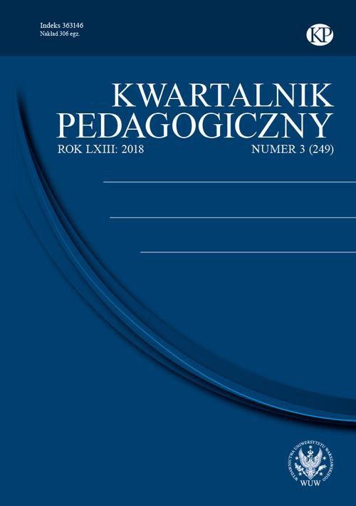 Kwartalnik Pedagogiczny 2018/3 (249) - Ebook (Książka PDF) do pobrania w formacie PDF