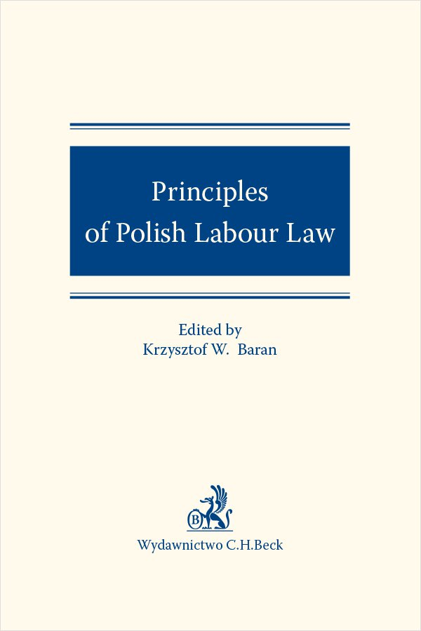 Principles of Polish Labour Law - Ebook (Książka PDF) do pobrania w formacie PDF