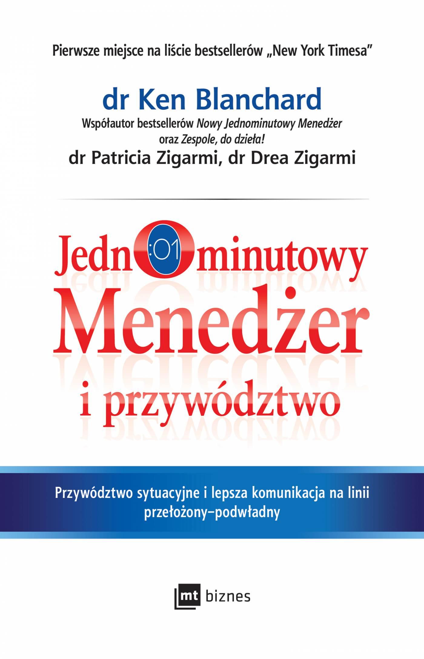 Jednominutowy Menedżer i przywództwo - Audiobook (Książka audio MP3) do pobrania w całości w archiwum ZIP