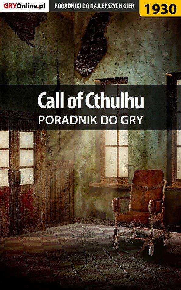 Call of Cthulhu - poradnik do gry - Ebook (Książka PDF) do pobrania w formacie PDF