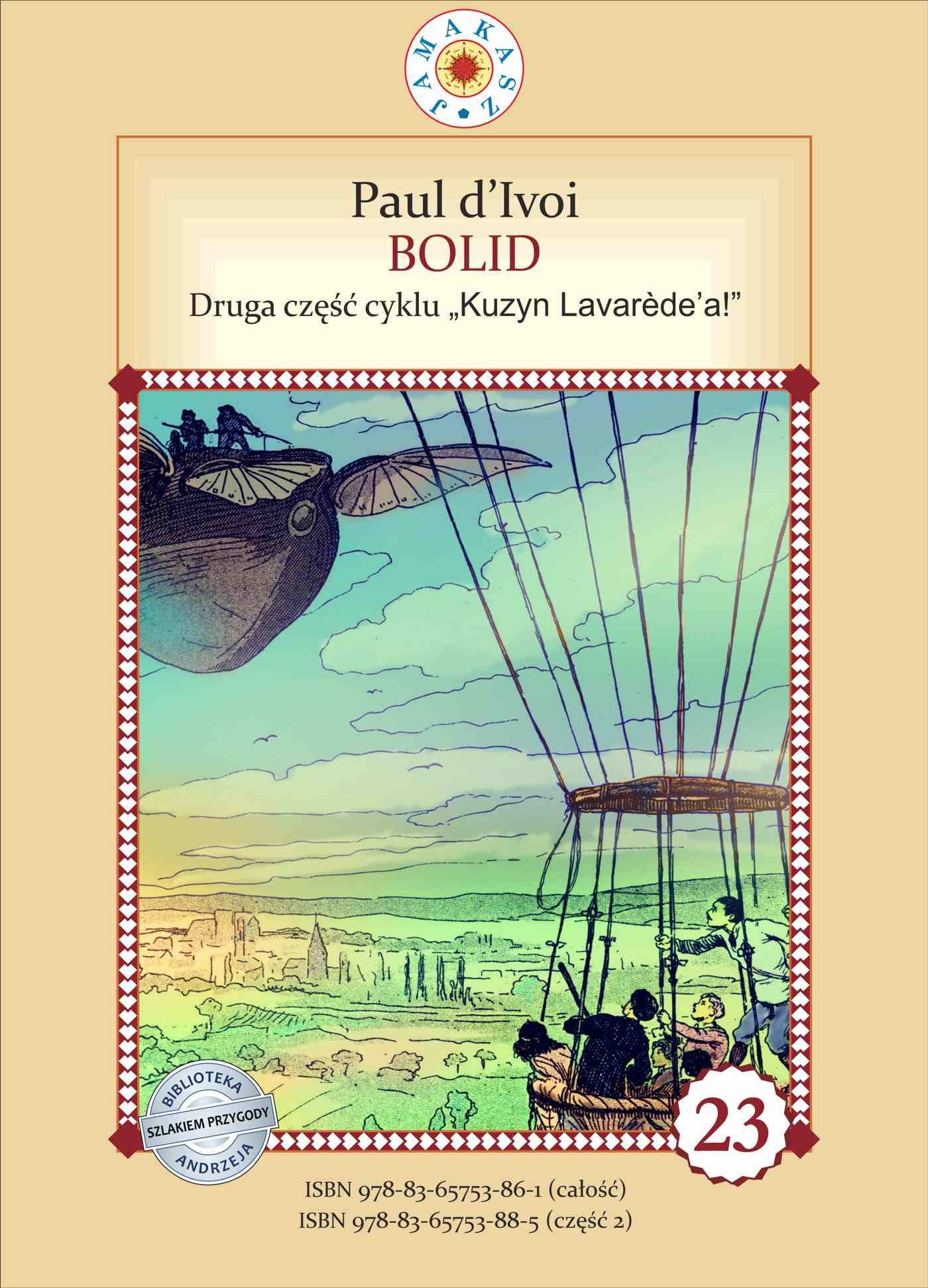 Kuzyn Lavarede'a. Część II. Bolid - Ebook (Książka EPUB) do pobrania w formacie EPUB
