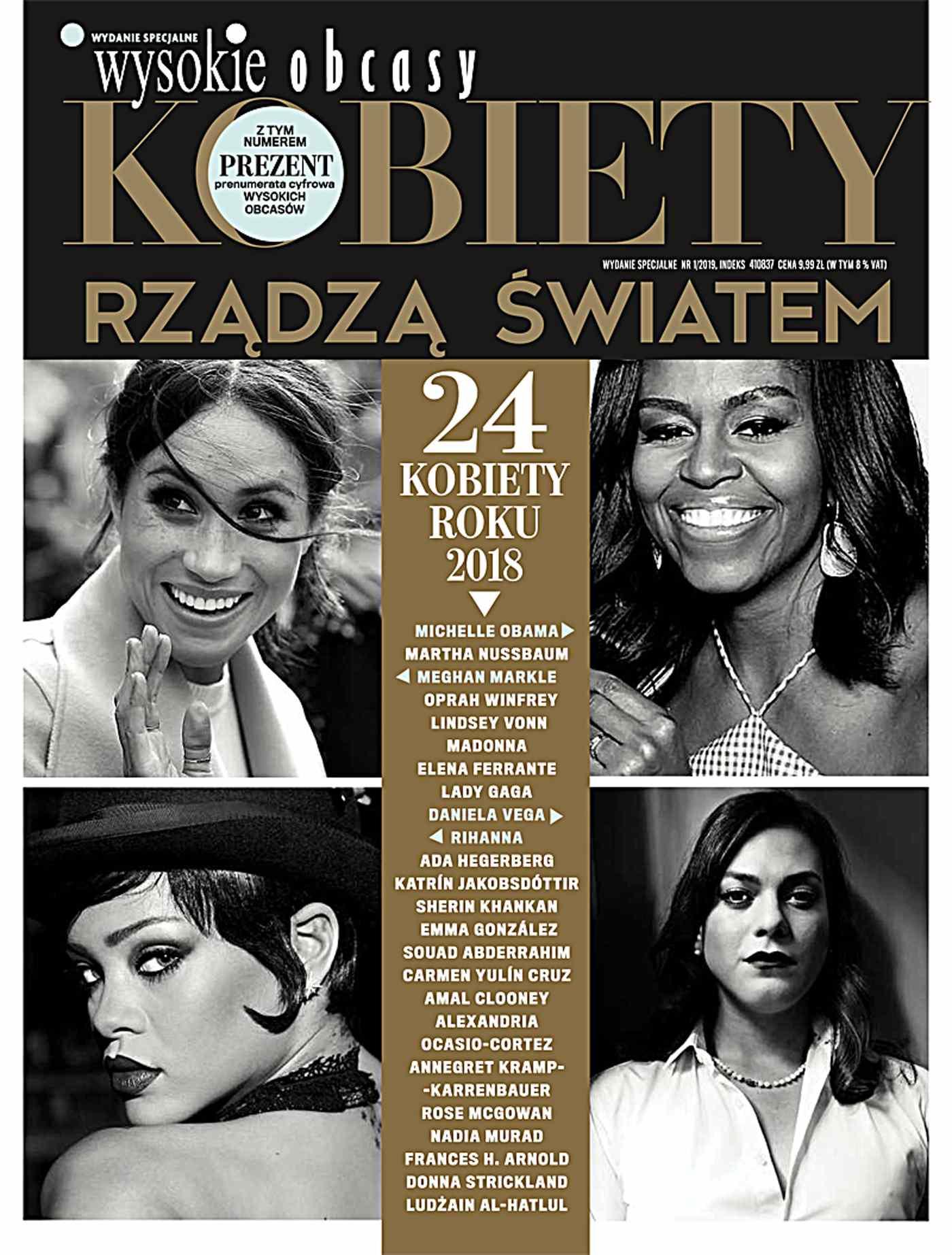 Kobiety rządzą światem. Wysokie Obcasy. Wydanie Specjalne 1/2019 - Ebook (Książka na Kindle) do pobrania w formacie MOBI