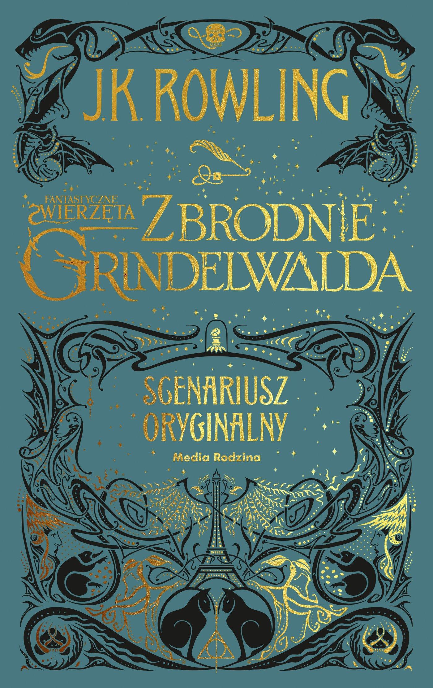 Fantastyczne zwierzęta. Zbrodnie Grindelwalda - Ebook (Książka EPUB) do pobrania w formacie EPUB