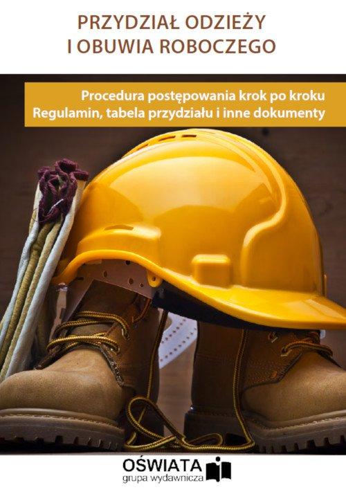 Przydział odzieży i obuwia roboczego - Ebook (Książka PDF) do pobrania w formacie PDF