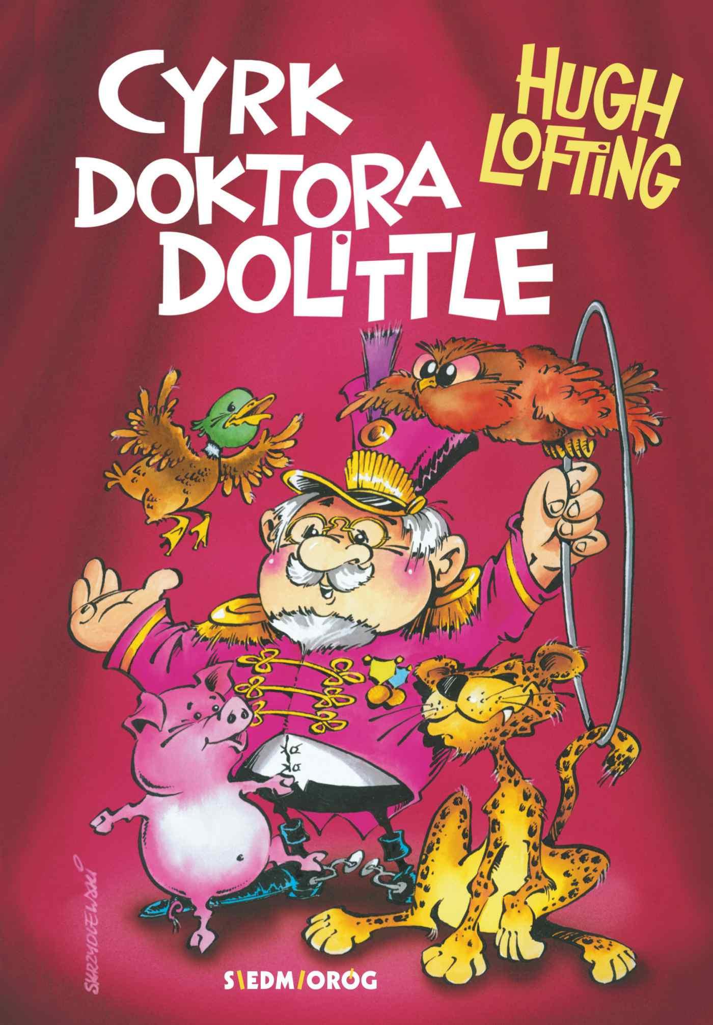 Cyrk doktora Dolittle'a - Ebook (Książka EPUB) do pobrania w formacie EPUB
