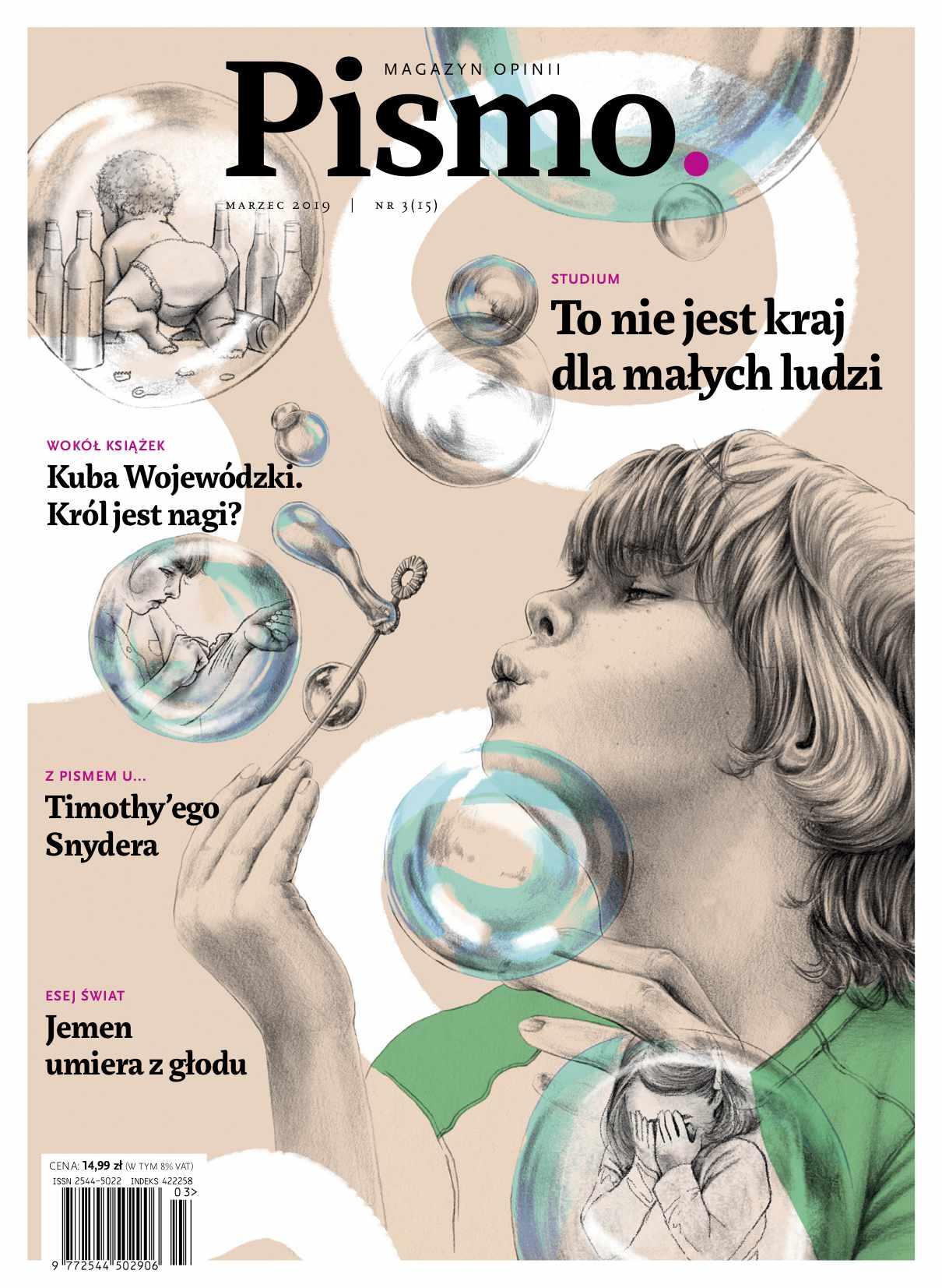Pismo. Magazyn Opinii 03/2019 - Audiobook (Książka audio MP3) do pobrania w całości w archiwum ZIP