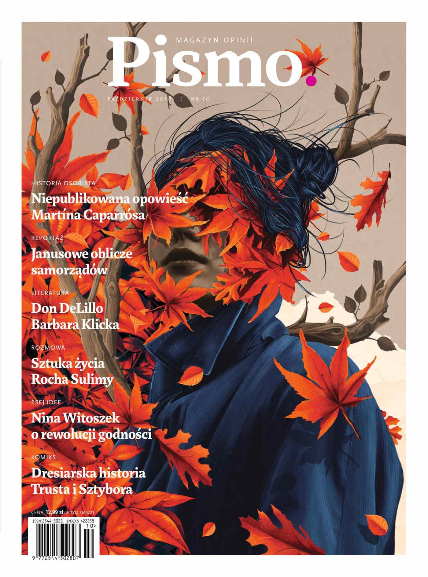 Pismo. Magazyn Opinii 10/2018 - Audiobook (Książka audio MP3) do pobrania w całości w archiwum ZIP