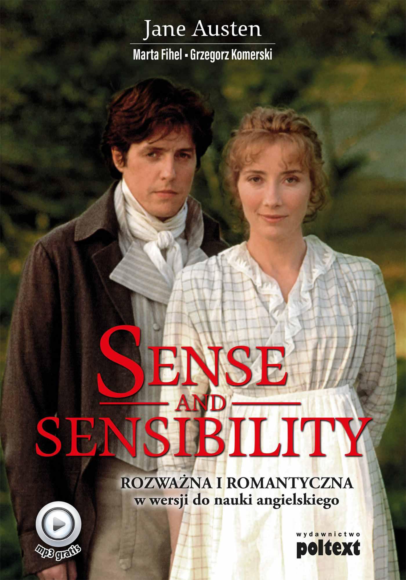 Sense and Sensibility. Rozważna i Romantyczna w wersji do nauki angielskiego - Ebook (Książka na Kindle) do pobrania w formacie MOBI