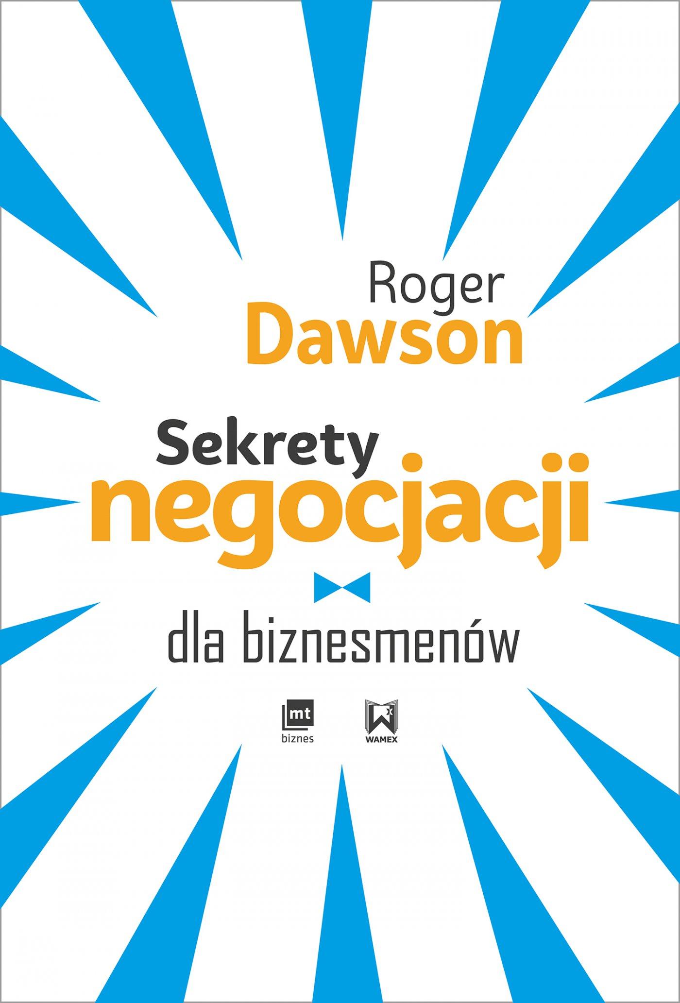 Sekrety negocjacji dla biznesmenów - Audiobook (Książka audio MP3) do pobrania w całości w archiwum ZIP
