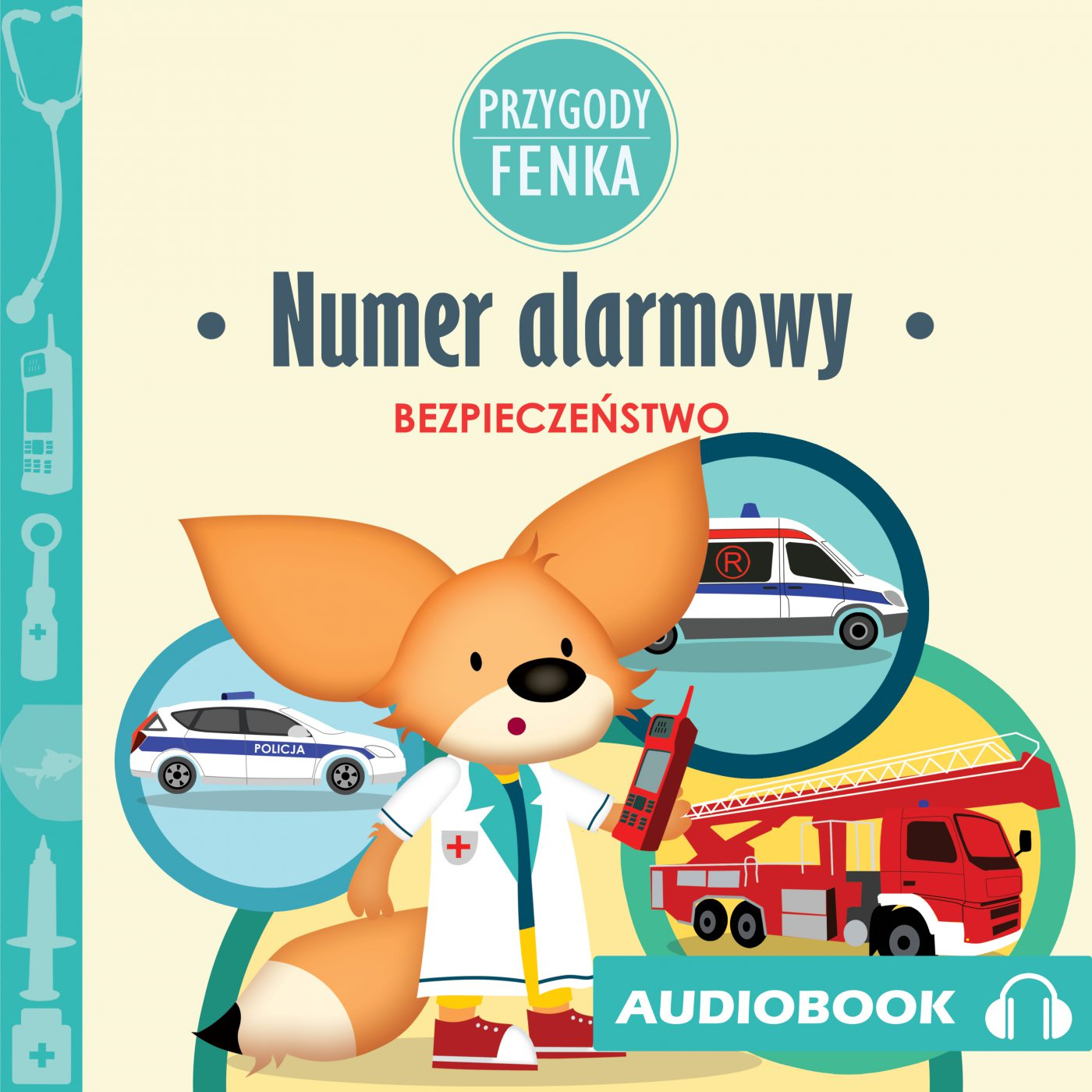 Przygody Fenka. Numer alarmowy - Audiobook (Książka audio MP3) do pobrania w całości w archiwum ZIP