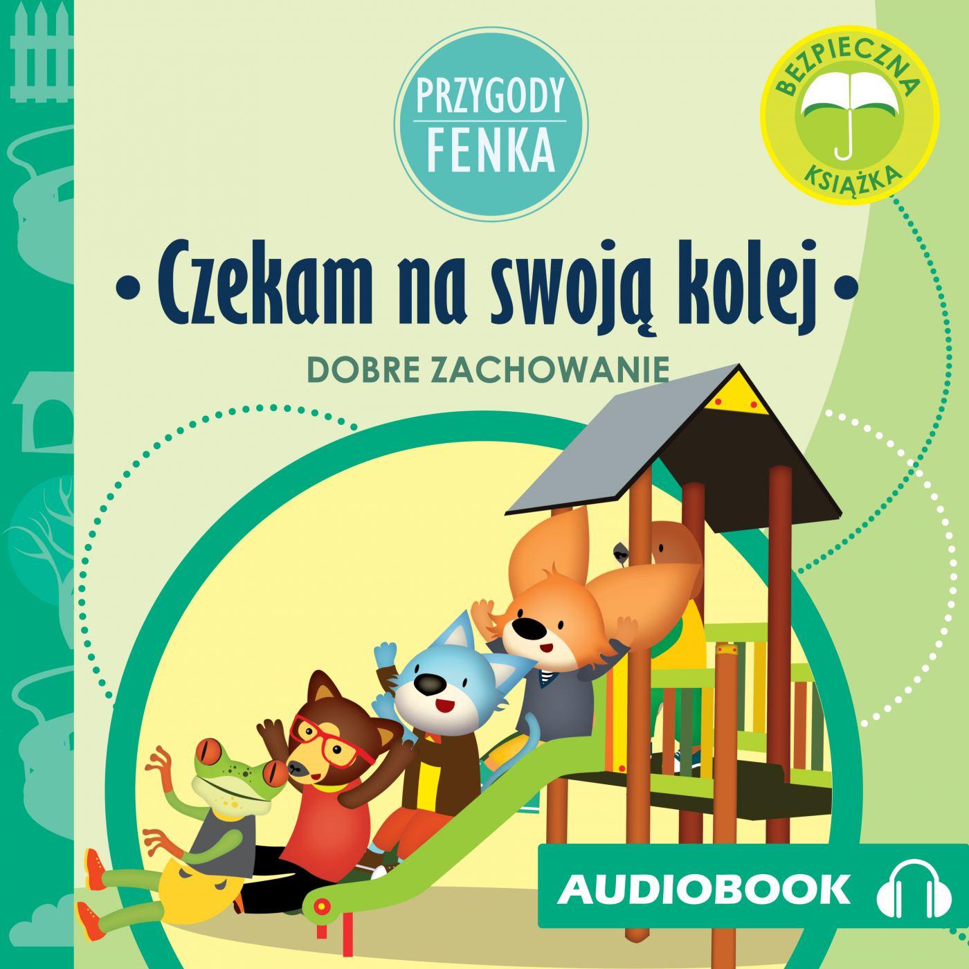 Przygody Fenka. Czekam na swoją kolej - Audiobook (Książka audio MP3) do pobrania w całości w archiwum ZIP