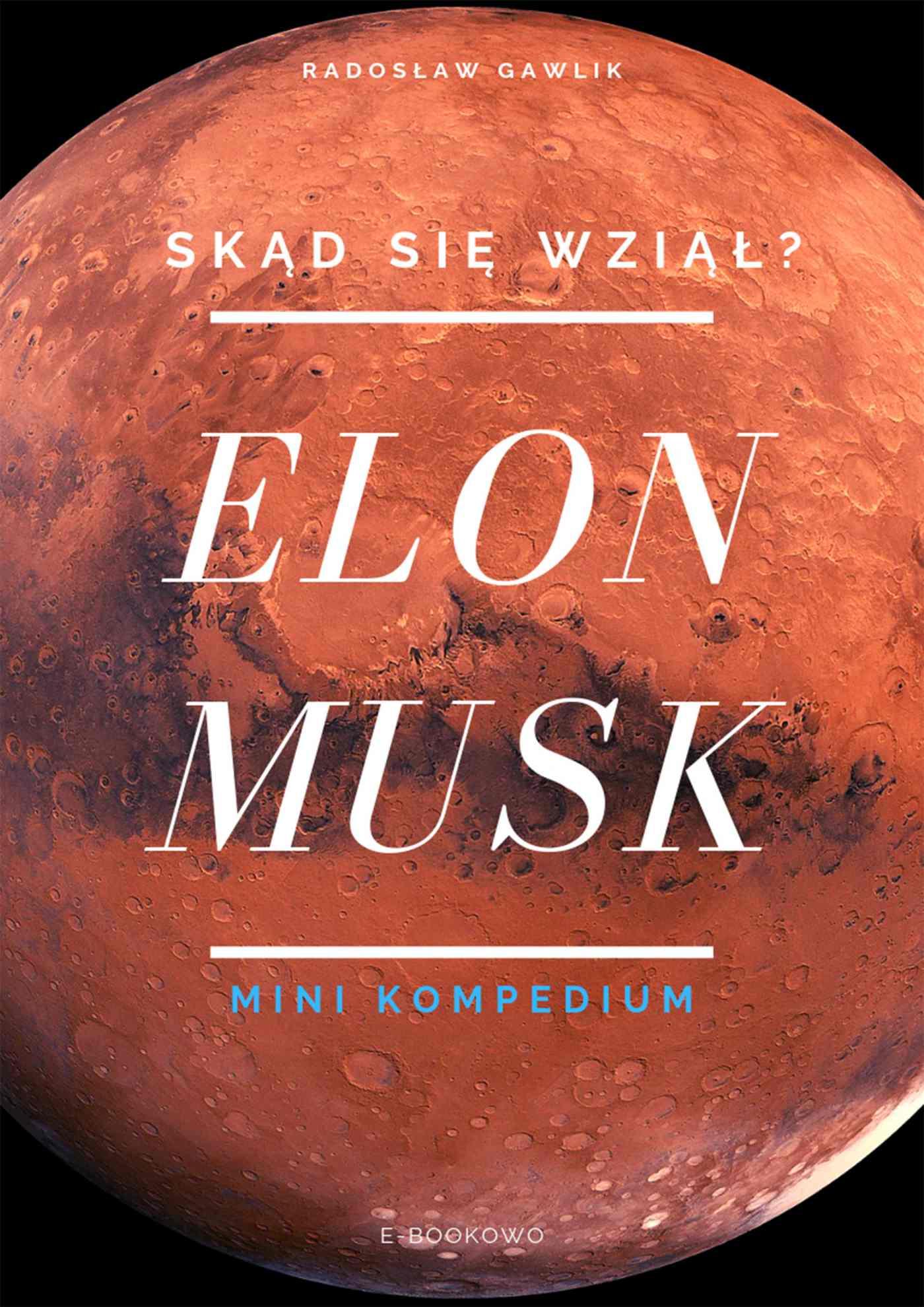 Elon Musk. Skąd się wziął? - Ebook (Książka PDF) do pobrania w formacie PDF