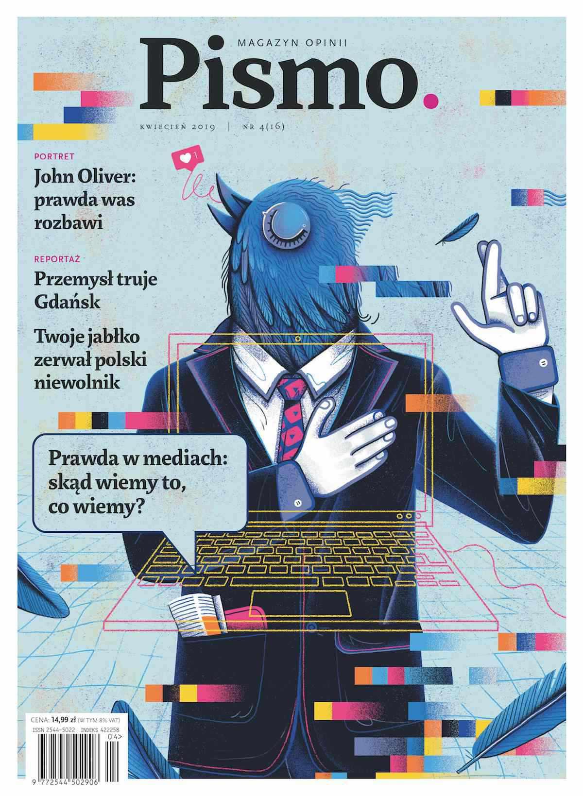 Pismo. Magazyn Opinii 04/2019 - Audiobook (Książka audio MP3) do pobrania w całości w archiwum ZIP
